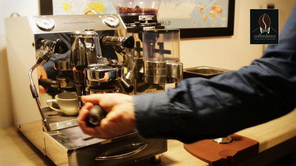 Παρασκευή καφέ με μηχανή Espresso