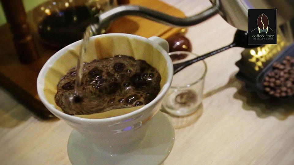 Παρασκευή καφέ με V60 / V-Dripper